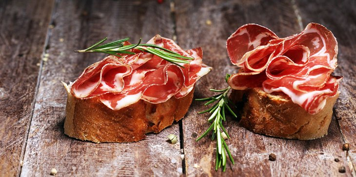 how long does prosciutto last out of the fridge